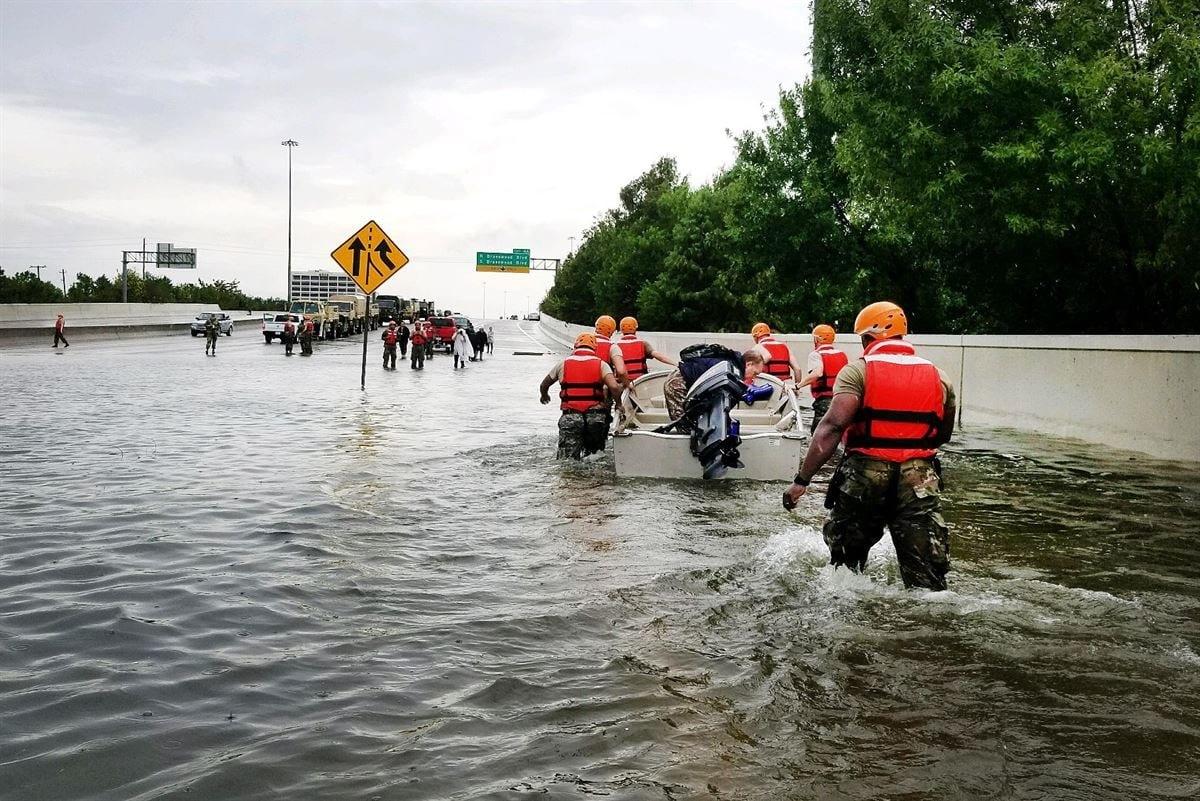 Rescue team.