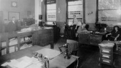 1920s office.