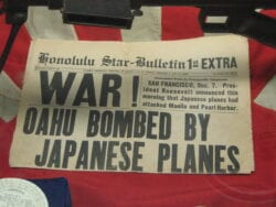 War! Oahu Bombed by Japanesee planes.