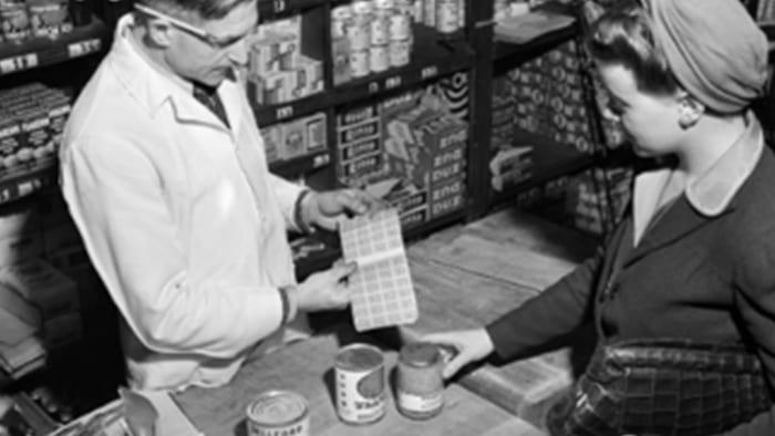 Clerk and customer.
