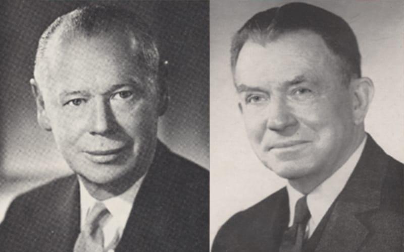 Ray Mattson and Brayton Wilbur Sr.
