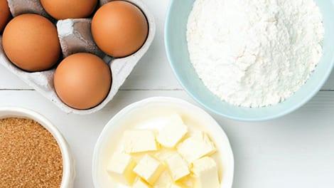 Cooking ingredients.