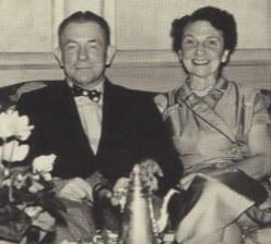 Brayton Wilbur Sr. and the matriarch of the Wilbur family.