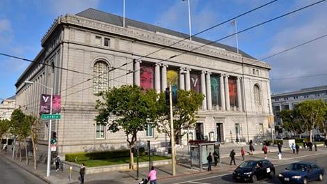 Asian Art Museum in San Francisco.